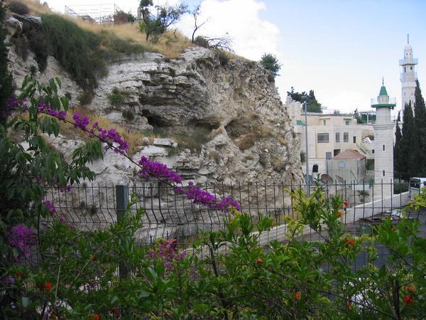 Golgotha hill