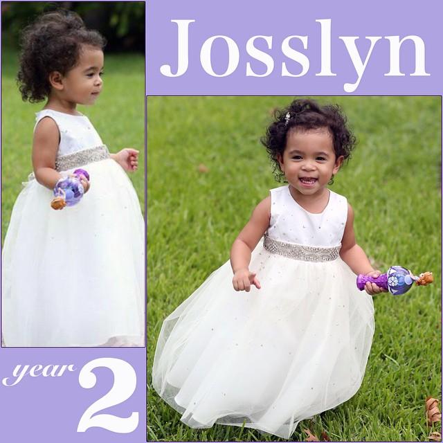 Josslyn is 2