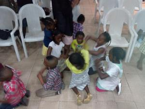 children dancing in FH
