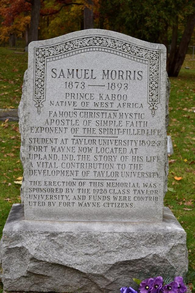 Morris Headstone