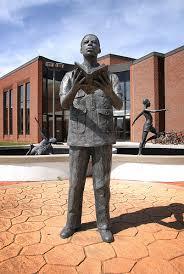 Samuel Morris statue