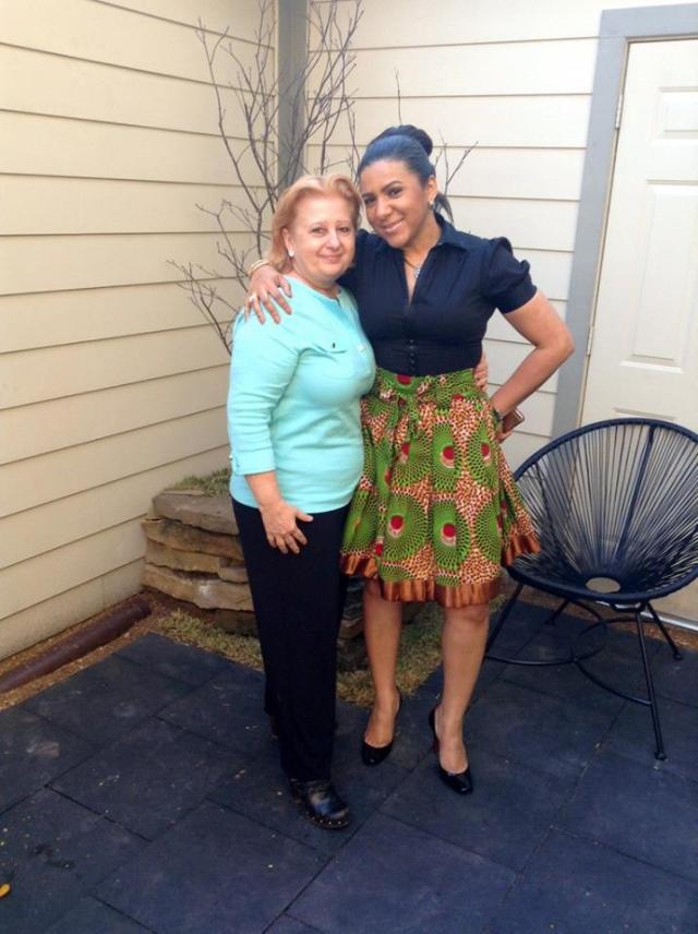 Alina and ma
