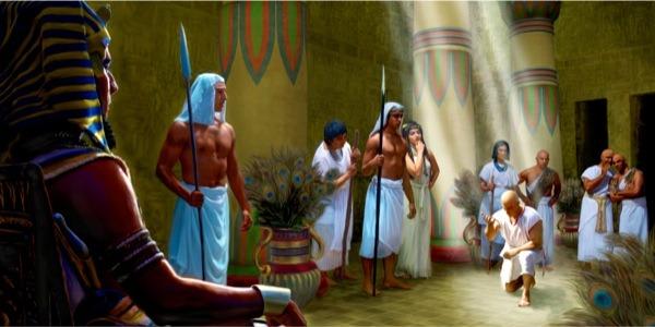 Joseph before Pharoah