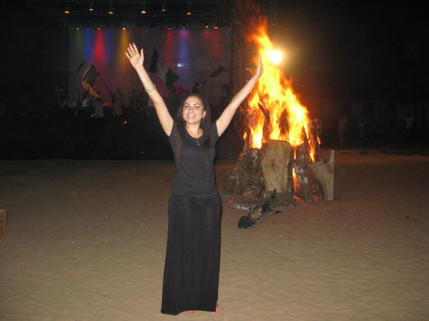 Jemine and the fire