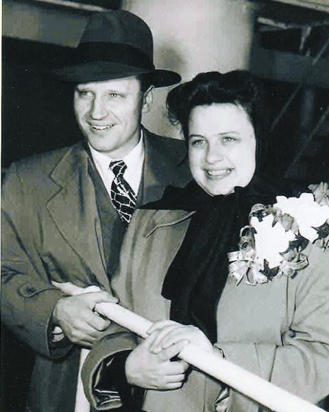 Jacob and Florence DeShazer