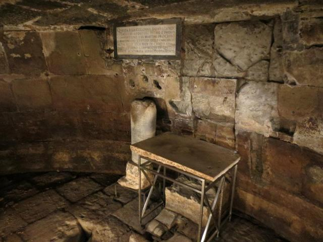 Apostle Paul's prison cell