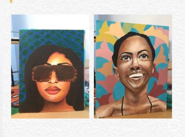 Oshoze paintings